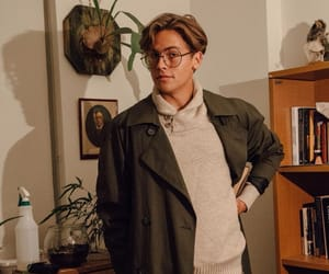 actor, cole sprouse, and glasses image