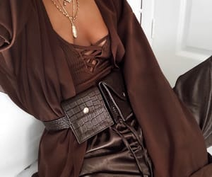 brown, fashion inspo, and ootd image