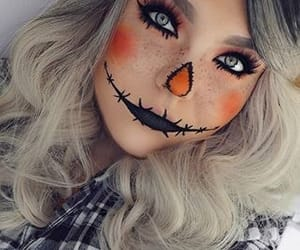 beautiful, black, and makeup image