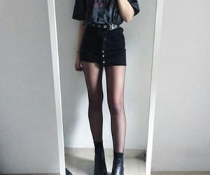 black, cute, and aesthetic image