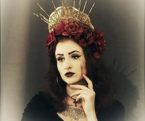 alt model, alternative style, and gothic girl image