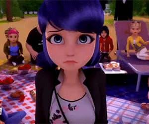 Adrien, love, and cartoon image