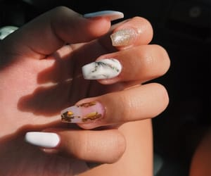 acrylics, carefree, and glitter image