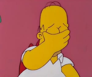 cartoon, homer simpson, and the simpsons image