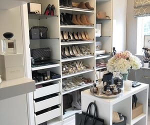 home, interior, and closet image
