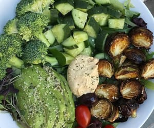 fitness, healthy, and plantbased image
