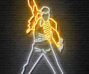 Freddie Mercury, led, and Queen image