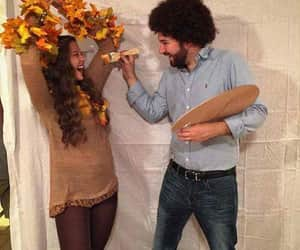 bob ross, comedy, and costume image