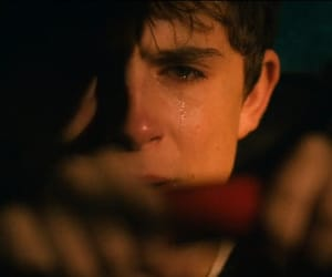 boy, cry, and crying image