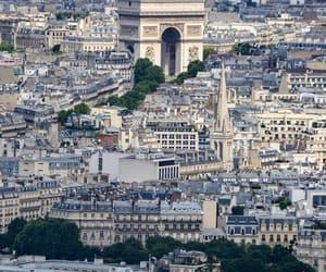 arc de triomphe, paris, and paname image