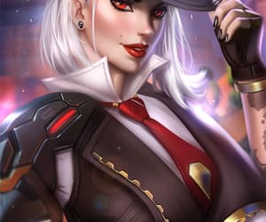 ashe, videogame, and blizzard entertainment image