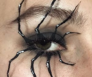spider, art, and eye image