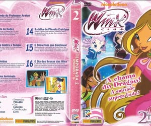 dvd, pink, and winx image