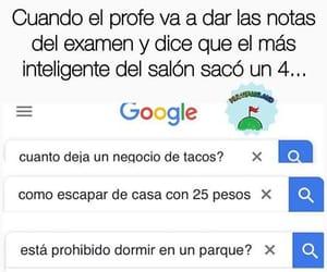 memes, escuela, and español image