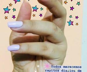felicidad, nail, and pink image