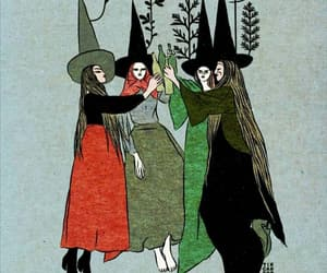 witch, art, and magic image