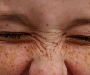 beauty, perfection, and freckles image