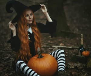 Halloween, october, and witchcraft image