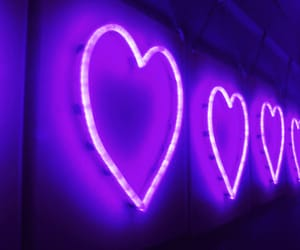neon, pink, and heart image