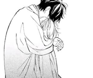 couple, hug, and manga image