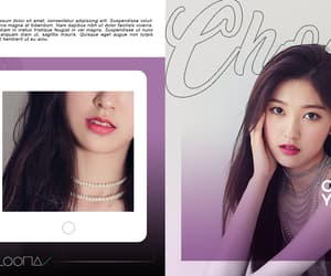 template, loona, and choerry image