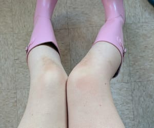 boots, pale, and legs image