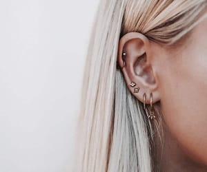 earrings, hair, and accessories image