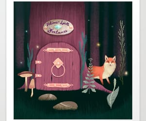 fairy, forest, and fortune image
