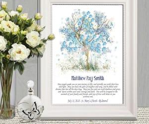 etsy, christening gift, and christian nursery image