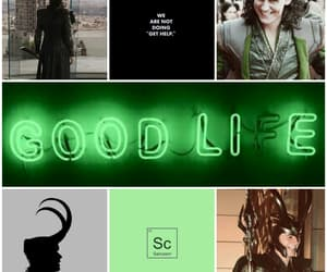 aesthetic, god, and green image