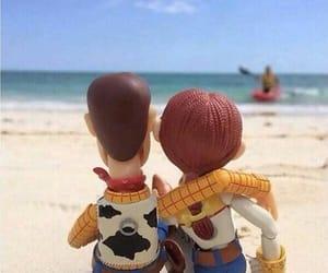 woody, love, and beach image