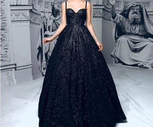 ball, black, and dress image