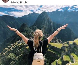 paisaje, machu pichu, and viajar image
