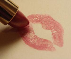 beautiful, girl, and kiss image