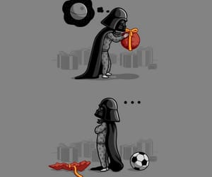 star wars, darth vader, and funny image