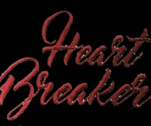 red, text, and heart breaker image