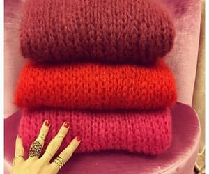 clothes, outfit, and sweaters image