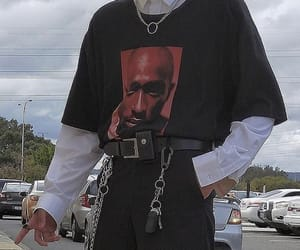 2pac, fashion, and grunge image