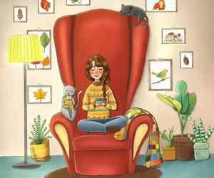 beautiful, illustration, and books image