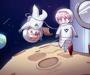 fanart, kpop, and rocket image