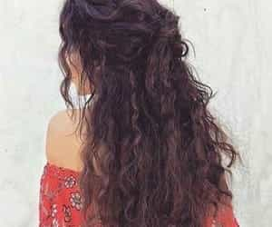 hair, curly, and vanessa hudgens image