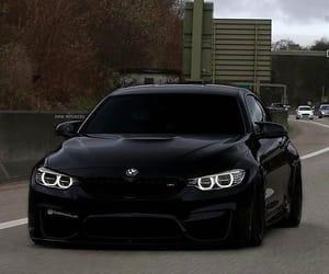 black, bmw, and elegant image