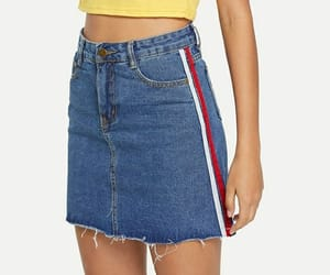 cool, denim, and shein image