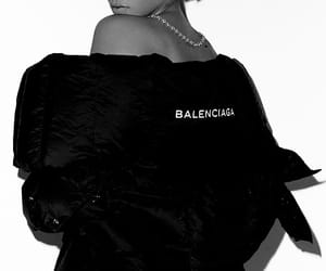 Balenciaga, fashion, and girl image