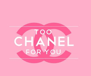 art, chanel, and wallpapers image