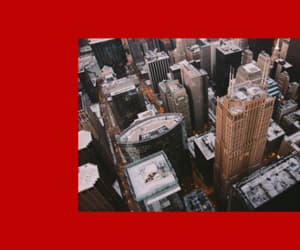 city, header, and red image