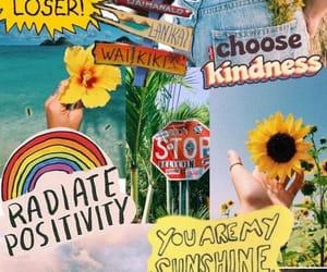 wallpaper and rainbow image