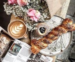 coffee, style, and dessert image