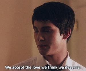 emma watson, gif, and the perks of being a wallflower image