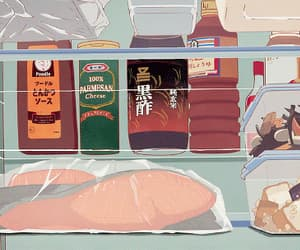 aesthetic, art, and anime food image